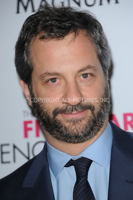 """WWW.ACEPIXS.COM . . . . . .April 18, 2012...New York City....Judd Apatow arriving to the Universal Pictures premiere of """"The Five Year Engagement"""" for the opening of the Tribeca Film Festival at the Ziegfeld Theatre on April 18, 2012  in New York City ....Please byline: KRISTIN CALLAHAN - ACEPIXS.COM.. . . . . . ..Ace Pictures, Inc: ..tel: (212) 243 8787 or (646) 769 0430..e-mail: info@acepixs.com..web: http://www.acepixs.com ."""