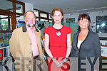 "Fitzmaurice Remambered : Pictured at the Fitzmaurice Remembered event to mark the 50th anniversary of Abbey playwright George Fitzmaurice from Duagh at The Seanachai Centre, Listowel on Saturday night last were Dick & Eileen Carmody with actress Aisling O'Sullivan (RAW) who read excerpst from Fitzmaurice's ""The Magic Glasses""."