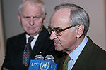 Ambassador of France to the United Nations Security Council JeanMarc de La Sabliere