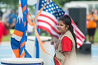 NWA Democrat-Gazette/BEN GOFF @NWABENGOFF<br /> Festivities Friday, May 25, 2018, during the opening ceremony for the 39th annual Republic of the Marshall Islands Jemenei (Constitution) Day celebration at the Jones Center in Springdale. The celebration continues Saturday with basketball, baseball and other sporting events.