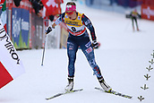 7th January 2018, Val di Fiemme, Fiemme Valley, Italy; FIS Cross Country World Cup, Tour de ski; Ladies 9km F Pursuit; Sadie Bjornsen (USA)