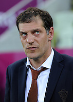 FUSSBALL  EUROPAMEISTERSCHAFT 2012   VORRUNDE Kroatien - Spanien                 18.06.2012 Trainer Slaven Bilic (Kroatien)