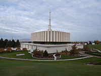 Provo Temple, Viewed from the South<br />