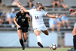 21 August 2016: North Carolina's Morgan Goff. The University of North Carolina Tar Heels hosted the University of North Carolina Charlotte 49ers in a 2016 NCAA Division I Women's Soccer match. UNC won the game 3-0