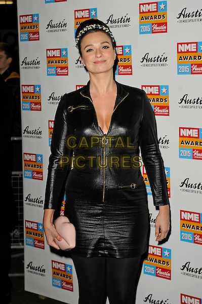 LONDON, ENGLAND - FEBRUARY 18: Gizzi Erskine attending the NME Awards at Brixton Academy on February 18 2015 in London, England.<br /> CAP/MAR<br /> &copy; Martin Harris/Capital Pictures