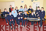Kerry Music Education :Pupils who attend Listowel Community College taking part in the Kerry Music Education Initiative  in partnership with KES with teacher Miranda Cournane. Front : Sean McKenna, Jack Watson, Chris O'Gorman, Dale O'Carroll, Tracey Kelly, Keogh Barrett & Rebecca Bambury. Back : Caoimhe Shine, M/s Karen Lennon, Tia O'Connor, Mark Faley, M/s Miranda Cournane & Martina Leahy.