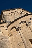 Europe/France/Corse/2B/Haute-Corse/Cap Corse/Saint-Florent: Chevet de l'église Santa Maria Assunta, ancienne cathédrale du Nebbio