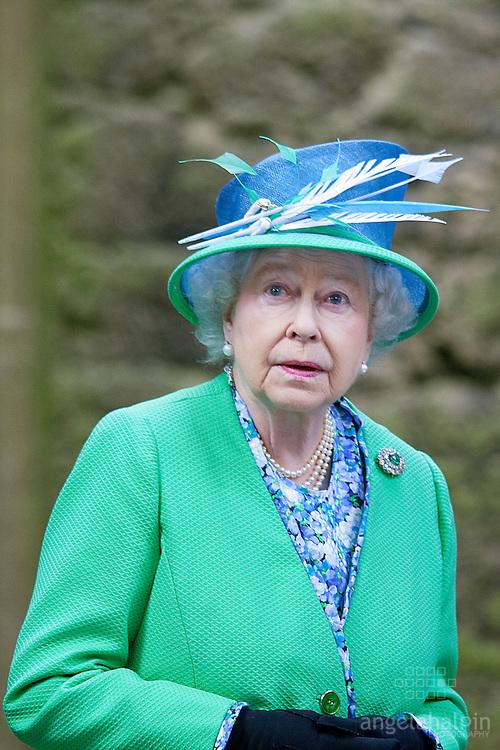 Queen Elizabeth II visits Rock of Cashel