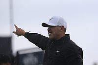 Brooks Koepka (USA) tees off the 9th tee during Sunday's Final Round of the 148th Open Championship, Royal Portrush Golf Club, Portrush, County Antrim, Northern Ireland. 21/07/2019.<br /> Picture Eoin Clarke / Golffile.ie<br /> <br /> All photo usage must carry mandatory copyright credit (© Golffile | Eoin Clarke)