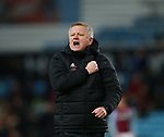 Chris Wilder manager of Sheffield Utd during the Championship match at Villa Park Stadium, Birmingham. Picture date 23rd December 2017. Picture credit should read: Simon Bellis/Sportimage