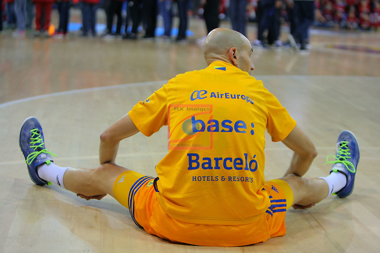 League ACB-ENDESA 2016/2017. Game: 11.<br /> FC Barcelona Lassa vs Herbalife Gran Canaria: 79-78.<br /> Albert Oliver.