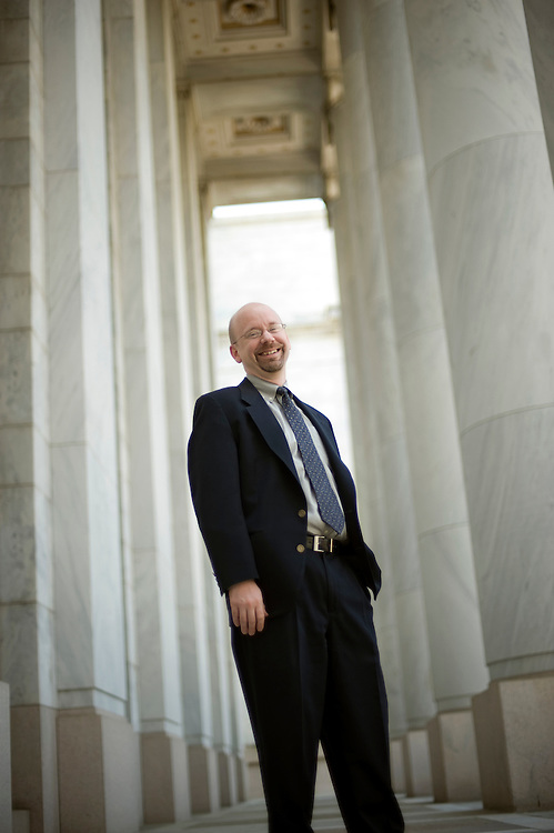 Greg Dotson, Chief Environment Counsel, House Government Reform Committee, is photographed outside of Rayburn Building, May 8, 2009.