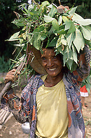 An Indonesian peasant in Java.<br /> Contadino indonesiano a Giava