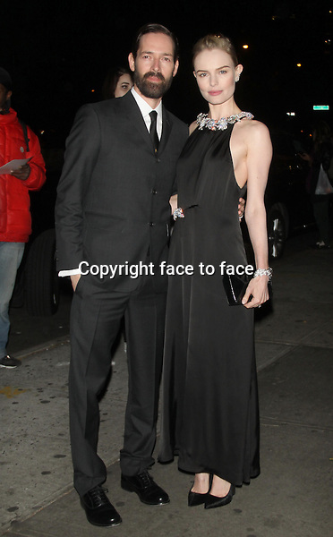 NEW YORK, NY - OCTOBER 28: Kate Bosworth and Michael Polish at the Premiere of Ketchup Entertainment's 'BIG SUR' at the Sunshine Landmark Theater in New York. October 28, 2013. <br /> Credit: MediaPunch/face to face<br /> - Germany, Austria, Switzerland, Eastern Europe, Australia, UK, USA, Taiwan, Singapore, China, Malaysia, Thailand, Sweden, Estonia, Latvia and Lithuania rights only -