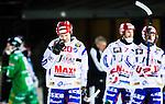 Stockholm 2015-01-16 Bandy Elitserien Hammarby IF - IFK Kung&auml;lv :  <br /> Kung&auml;lvs Tobias Backman och Mikael Lindberg deppar under matchen mellan Hammarby IF och IFK Kung&auml;lv <br /> (Foto: Kenta J&ouml;nsson) Nyckelord:  Elitserien Bandy Zinkensdamms IP Zinkensdamm Zinken Hammarby Bajen HIF IFK Kung&auml;lv depp besviken besvikelse sorg ledsen deppig nedst&auml;md uppgiven sad disappointment disappointed dejected