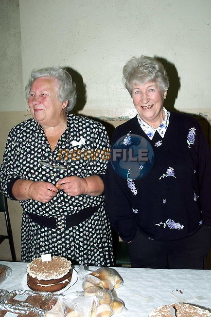 Peggy Emersohn, St. Peter's Place and Elinore Buttimore, St. Peter's Close at the Church of Ireland coffee morning..Picture Paul Mohan Newsfile