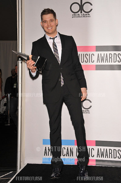 Michael Bublé at the 2010 American Music Awards at the Nokia Theatre L.A. Live in downtown Los Angeles..November 21, 2010  Los Angeles, CA.Picture: Paul Smith / Featureflash