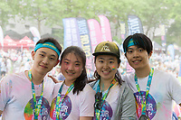The Color Run 2016, Seattle Center, WA, USA.