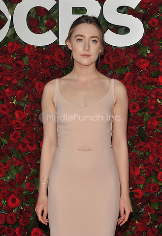 NEW YORK, NY - JUNE 12: Saoirse Ronan at the 70th Annual Tony Awards at The Beacon Theatre on June 12, 2016 in New York City. Credit: John Palmer/MediaPunch