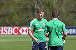 British & Irish Lions training session.Owen Farrell taking part in the Lions first training session in Wales..Vale Resort.15.05.13.©Steve Pope