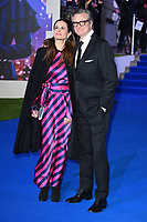 "LONDON, UK. December 12, 2018: Livia Firth & Colin Firth at the UK premiere of ""Mary Poppins Returns"" at the Royal Albert Hall, London.<br /> Picture: Steve Vas/Featureflash"