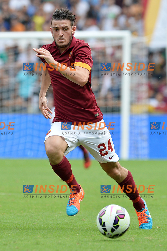 Alessandro Florenzi Roma.<br /> Roma 21-09-2014 Stadio Olimpico. Football Calcio 2014/2015 Serie A. AS Roma - Cagliari. Foto Antonietta Baldassarre / Insidefoto