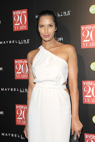 New York, NY-September 8:  Padma Lakshmi attends Instyle 20th Anniversary Party on September 8, 2014 at Diamond Horseshoe at the Paramount Hotel in New York City.  Credit: John Palmer/MediaPunch