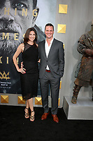 """LOS ANGELES - MAY 8:  Toby Turnell, Joby Harold at the """"King Arthur Legend of the Sword"""" World Premiere on the TCL Chinese Theater IMAX on May 8, 2017 in Los Angeles, CA"""