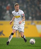 FUSSBALL   1. BUNDESLIGA   SAISON 2011/2012   23. SPIELTAG Borussia Moenchengladbach - Hamburger SV         24.02.2012 Marco Reus (Borussia Moenchengladbach) Einzelaktion am Ball