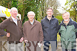 Experienced rowers l-r: Maurice Coffey, Ted O'Shea, Philip Coffey and Denis O'Donoghue at the blessing of the new boats and pier at Muckross Rowing club on Sunday..