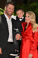 LOS ANGELES, CA. September 20, 2018: Carrie Underwood, Mike Fisher & Isaiah Fisher at the Hollywood Walk of Fame Star Ceremony honoring singer Carrie Underwood.<br /> Pictures: Paul Smith/Featureflash