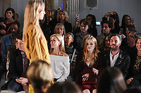 Katherine Kelly and Ellie Bamber<br /> at the Jasper Conran SS18 Show as part of London Fashion Week, London<br /> <br /> <br /> ©Ash Knotek  D3308  16/09/2017