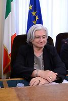 Roma, 9 Maggio 2017<br /> Rosy Bindi durante l'audizione alla Commissione Parlamentare antimafia