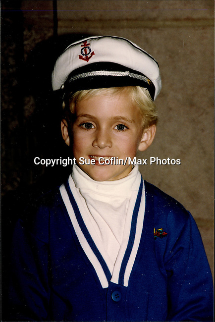 """One Life To Live Tyler Noyes """"CJ Roberts"""" outside the OLTL studio in costume.  (Photo by Sue Coflin/Max Photos)"""