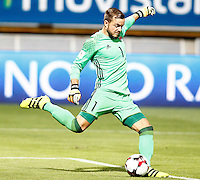 Liechtenstein's Peter Jehle during FIFA World Cup 2018 Qualifying Round match. September 5,2016.(ALTERPHOTOS/Acero)