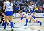 ROTTERDAM  - NK Zaalhockey  finale A'dam MB1-Kampong B1 (3-4). Kampong Nederlands Kampioen -16.  Keet Oldenhof (Kampong)  COPYRIGHT KOEN SUYK