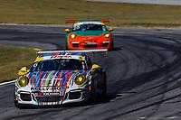 IMSA Porsche GT3 Cup Challenge USA<br /> Road Atlanta<br /> Road Atlanta, Braselton GA<br /> Friday 6 October 2017<br /> 6, David Ducote, GT3G, USA, 2016 Porsche 991<br /> World Copyright: Jake Galstad<br /> LAT Images