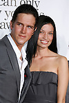 """HOLLYWOOD, CA. - October 20: Actor Jason Mewes and fiance Jordan Monsanto arrive at the Los Angeles Premiere of """"Zack And Miri Make A Porno"""" at Grauman's Chinese Theater in Hollywood, California."""