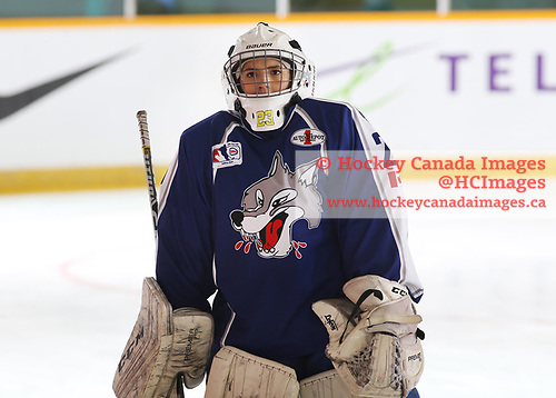 Sudbury, ON - Apr 22 2019 - Sudbury Lady Wolves vs St. Albert Slash during the 2019 ESSO Cup at the Gerry McCrory Countryside Sports Complex in Sudbury, Ontario, Canada (Photo: Alex D'Addese/Hockey Canada)