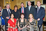 ANNUAL DINNER: Having a great time at the Lee Strand annual social at the Ballygarry House hotel and Spa on Saturday front l-r: Joanne Crean, Doreen Pierse Moya Boyd. Back l-r: Gerry McMahon, Noreen McMahon, Shane Crean, Donal Pierse and Gene Boyd.
