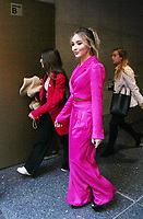 NEW YORK, NY - NOVEMBER 8: Sabrina Carpenter seen leaving  NBC's Today Show in New York City on November 08, 2018. Credit: RW/MediaPunch