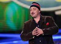 Paolo Caiazzo  nella nuova edizione del programma rai &quot; Made in Sud&quot;<br /> 11 marzo 2014