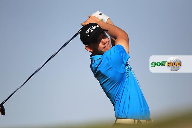 JB Hansen (DEN) during round one of the Abu Dhabi HSBC Golf Championship in the Abu Dhabi golf club, Abu Dhabi, UAE..Picture: Fran Caffrey/www.golffile.ie.