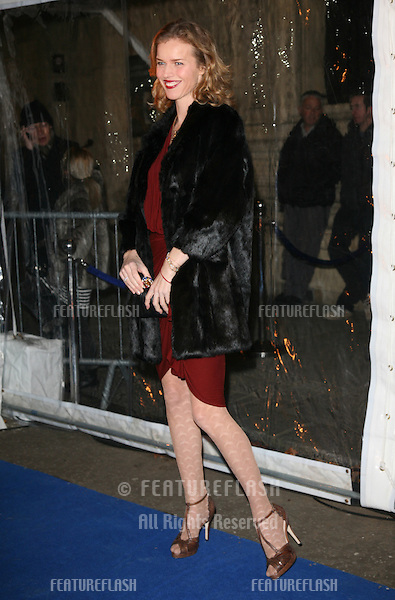 Eva Herzigova arriving for the Cirque du Soleil Gala Performance of Totem, at the Royal Albert Hall, London.  05/01/2012  Picture by: Alexandra Glen / Featureflash