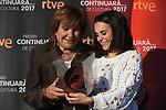 Premis Dol&ccedil;os Continuara de Cultura, Edicio 2017.<br /> Montse Mompo &amp; Andrea Motis.