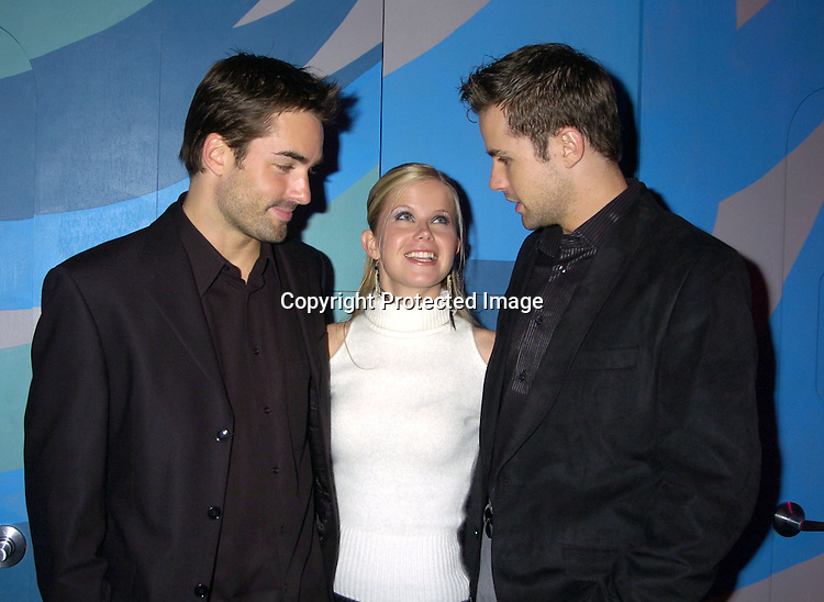 Chris Beetem, Crystal Hunt and John Driscoll ..at Labors of Love performance of Dream Out Loud on November 15, 2004 at The Lamb's theatre. ..Photo by Robin Platzer, Twin Images