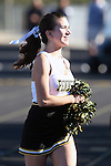 Palos Verdes, CA 10/30/09 - Peninsula Song & Cheer Squads in action during the Mira Costa Mustang vs Peninsula Panthers football game played at Peninsula High School.