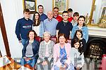 Helen McElligott celebrating her birthday in Bella Bia on Saturday evening<br /> Seated l to r: Mary McElligott, Helen McCarthy and Ann Mooney.<br /> Back l to r: Tadhg Reen, Aisling Mooney, Ian Silk, Noel Mooney, Darragh Reen, Roy Reen, Ciara Mooney, Dermot Reen, John, Ella Rose and Lila Jane McElligott.