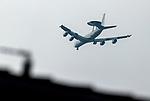 06.03.2020: Rangers training: RAF surveillance plane above the Rangers training Centre
