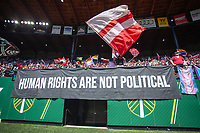 Portland, Oregon - Sunday August 25, 2019: Portland Thorns vs Chicago Red Stars at Providence Park